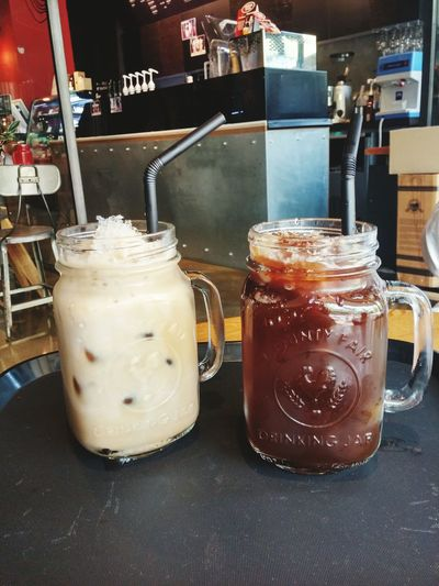 Iced Americano Iced Latte ☕ :) Coffee Break Date With Mom