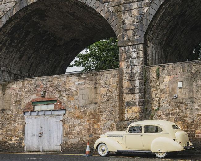 Old Car Arch