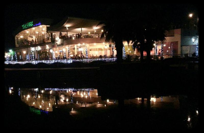Night Shot Night Lights Water Reflections Eye4photography  Nightcall Restuarant Eye4enchanting Reflective