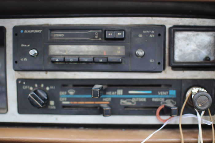 Cars Old Cars Old Technology Pickups Radio Car Car Interior Car Radio Cassette Cassette Player Cassette Tape Cat Close-up Day Mitshubishi No People Old Old Car Old Cars Exposition Old Time Oldtimer Pickup Pickup Truck Pickuptruck Radio Station