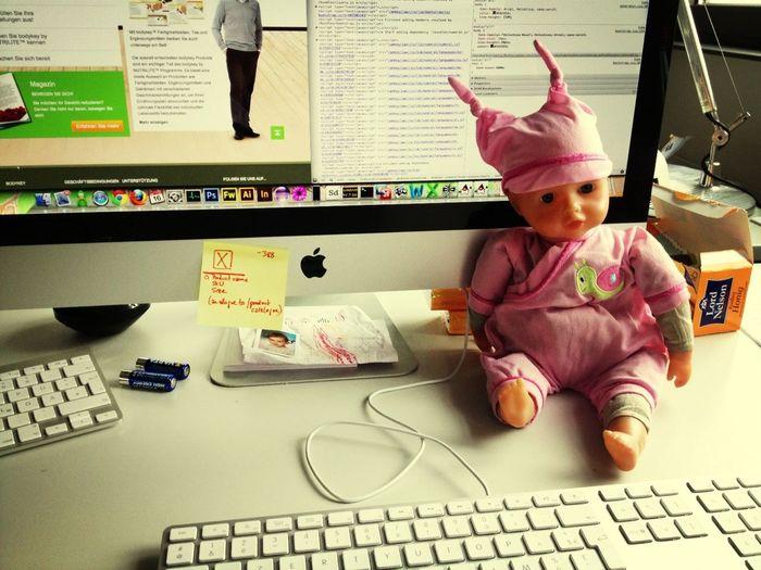 Working My Desk