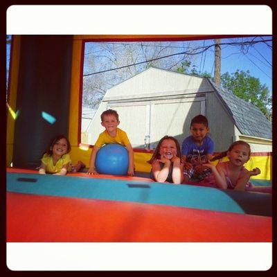 Bouncy castle!!! Memorialday