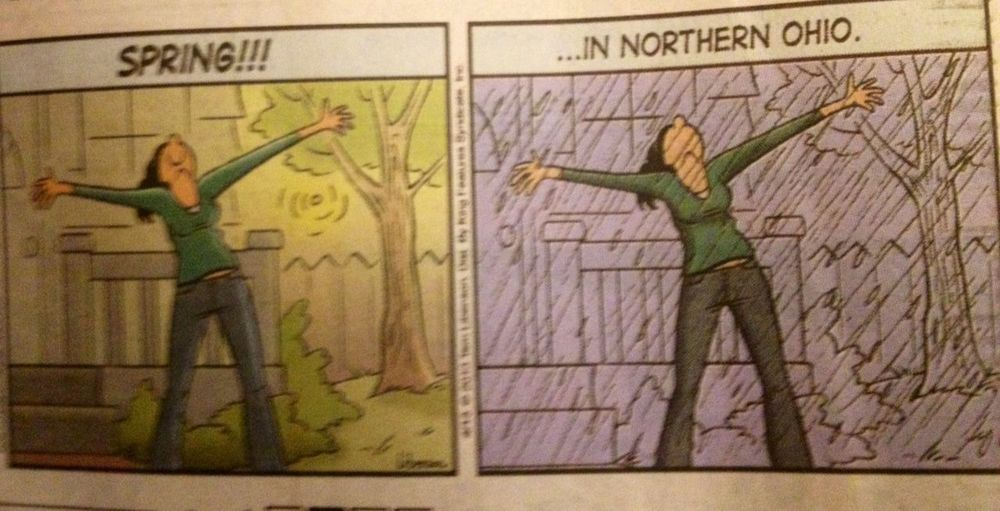 Comic Strip NE Ohio Weather Plain Dealer