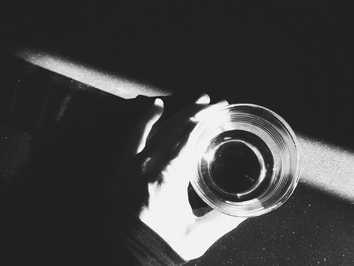 Beam of light | Beams Of Light In My Kitchen Glass Of Water Black And White Monochrome From My Point Of View My Hands Getting Inspired EyeEm Italy |