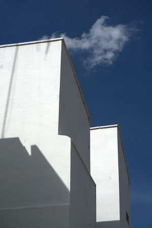 Architecture Building Exterior Built Structure Day Light And Shadow Low Angle View No People Outdoors Shadow Sky Sunlight