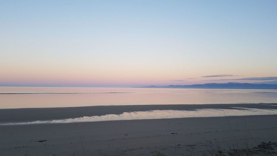 Beach Beauty In Nature Clear Sky Day Horizon Over Water Landscape Nature No People Outdoors Salt - Mineral Sand Scenics Sea Sky Sunset Tranquil Scene Tranquility Water