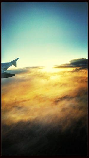 From An Airplane Window Volando Voy...