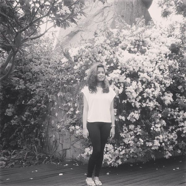 Smiles Black and White Photo summertime summer 2014 flowers flora nature may sunny fun happy april