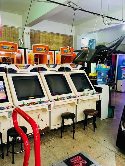 Korea Playing Games Fun Time Streetfighter 90s Arcade Games Arcade Machine Korean Game Game Room Game Arcade Seat No People Seat No People Chair Absence Computer Metal In A Row Architecture Industry Playing Games Fun Time Streetfighter 90s Arcade Games Arcade Machine Korean Game Game Room Game Arcade Seat No People Seat No People Chair Absence Computer Metal In A Row Architecture Industry