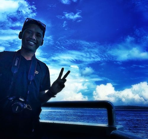 Sky Picture Potrait Beach Surabaya City My Pictures Holyday My Trip