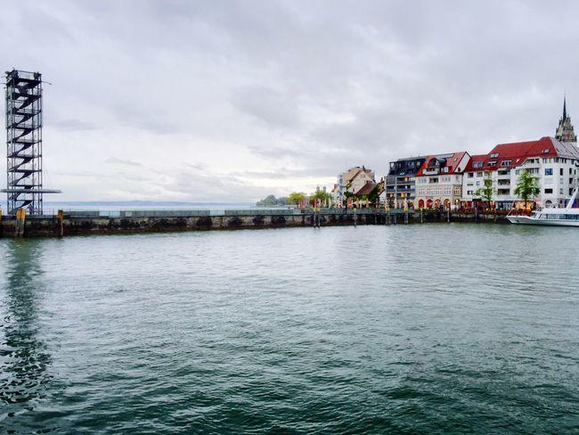 Hafen Friedrichshafen Am Bodensee Harbour Friedrichshafen Lake Constance