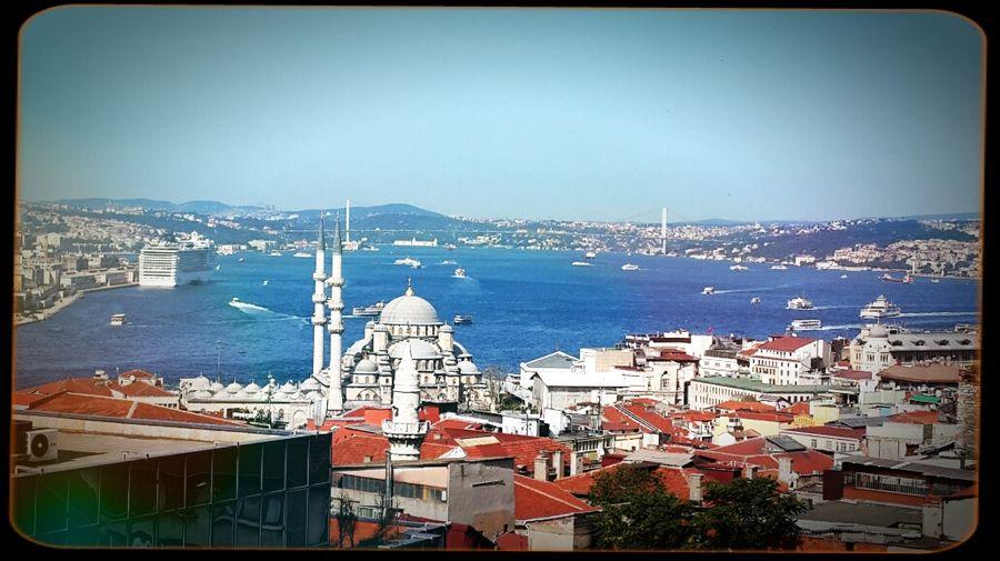 Istanbul #bogaz Eminönü Manzara Eminönü Cami