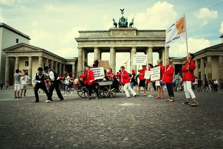 Fighting against animal abuse Animal Rights Horses Berlin Stop Animal Abuse