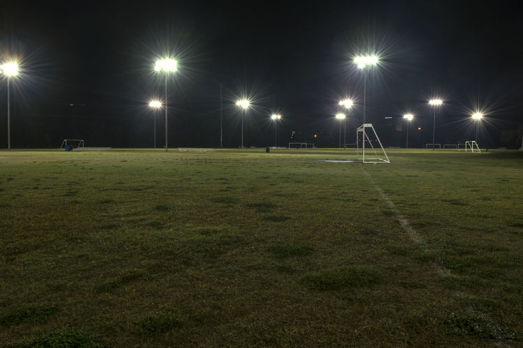 Goal and empty