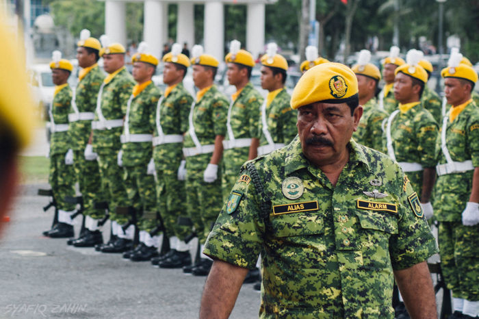 The Boss Soldiers Sergeant Malaysia First Eyeem Photo Color Of Carnival