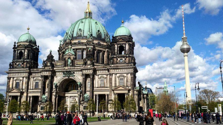 Dome Travel Destinations Large Group Of People Outdoors Building Exterior Architecture Place Of Worship Adult Built Structure Cloud - Sky People Adults Only Politics And Government Sky Religion Travel Tourism City Day Berlin Berlin Photography Berlin Life Berlintourist Berlindome Berlindom Discover Berlin