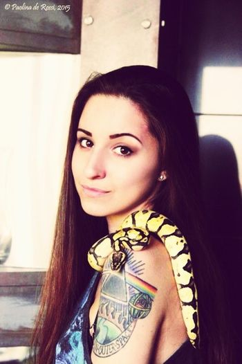 Pets Corner Snakes Reptails Portrait Photography Portrait Of A Woman