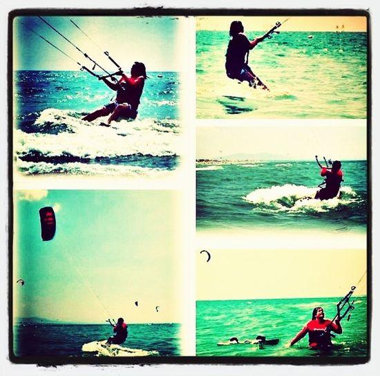 Hello World That's Me Flying A Kite Kitesurfing