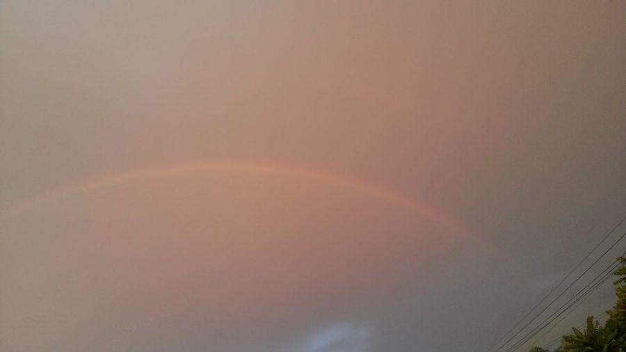 สายรุ้ง ท้องฟ้ายามค่ำ ท้องฟ้ายามเย็น ท้องฟ้า / อัน / กว้างใหญ่ สายรุ้ง ฟ้าหลังฝนสวยงามเสมอ Refraction Multi Colored Rainbow Sky Close-up Double Rainbow Star Field Sky Only
