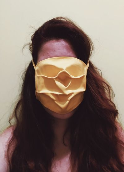 Face inside of a mask