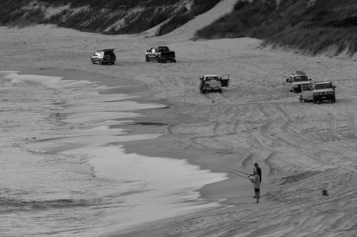 Hanging Out Relaxing Sea Water Fishing Blackandwhite Black And White Fisherman Sport Canon The Week On Eyem Ocean Life Is A Beach Beach Life Australia Bnw Week End
