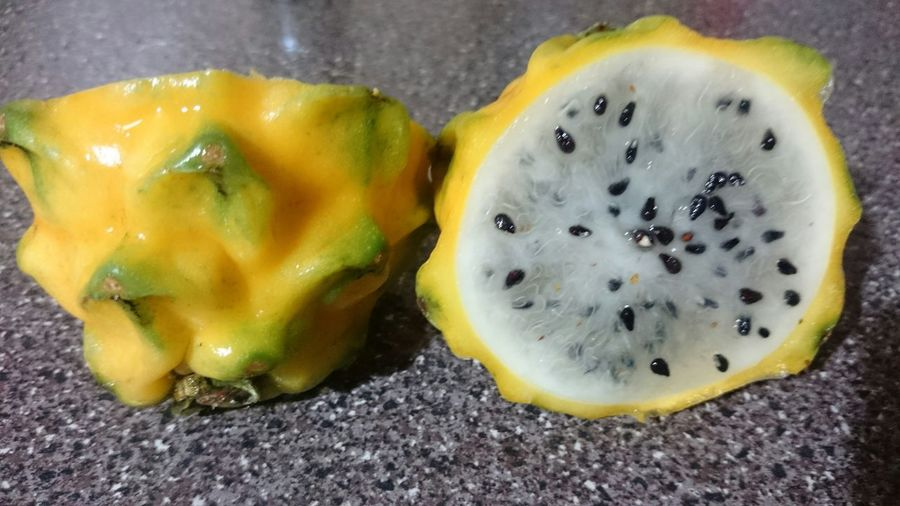 Awesome fruit Pitera Dragonfruit Yellow Fruits Sweet