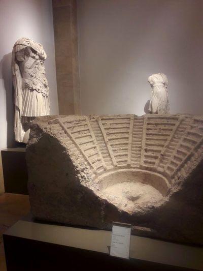 The National Museum of Lebanon 🇱🇧 art history Male Likeness Female Likeness
