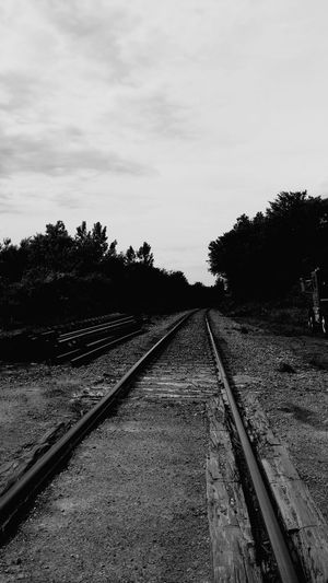 Black And White Photography Sherbrooke Where Does It Lead? Train Tracks Trains & Railroad