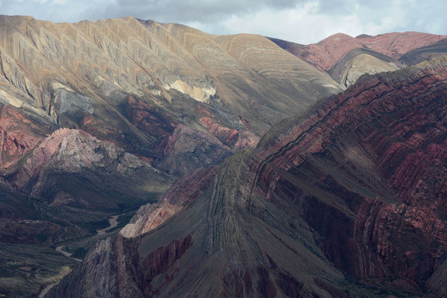 Andes Argentina Beauty In Nature Day Geology Hornocal Humahuaca Landscape Mountain Mountain Range Nature No People Outdoors Physical Geography Scenics Sky Tranquil Scene Tranquility