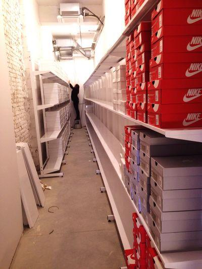Precision Inorder Organize Shoe Stockroom