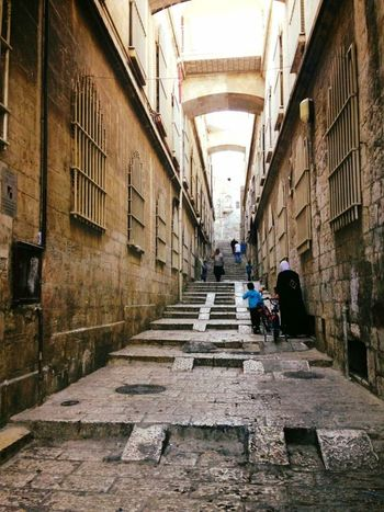 Traveling Old City History Old Street Religious  Lovecity  in Old Jerusalem Jerusalem Israel
