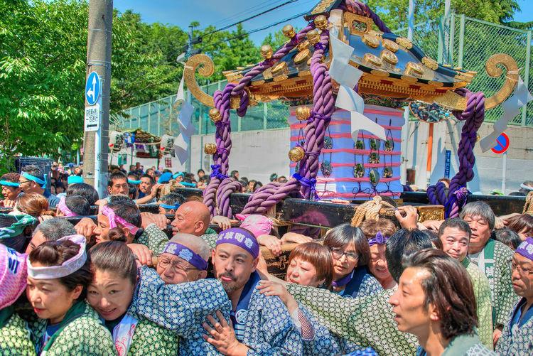 Asakusa,tokyo,japan Colors Festival Japanese Festival Sanjya Matsuri Tokyo,Japan 三社祭 本社神輿