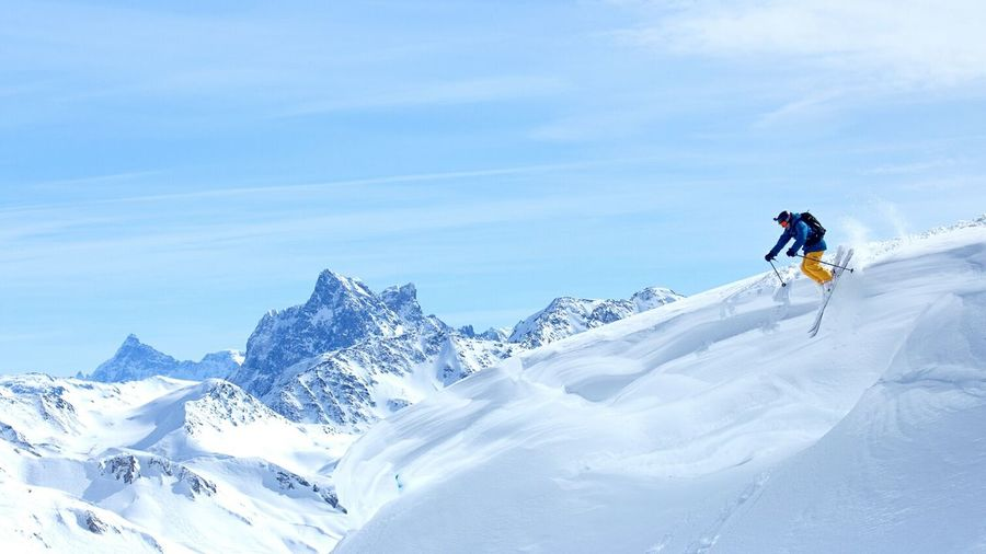 :) Skiing Mountains Freeride Snow Wintr EyeEm Best Shots Taking Photos Check This Out Hello World Nature
