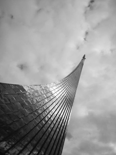 Cloud - Sky Sky Outdoors Skyscraper No People Travel Destinations Day City Nature Rocket Moscow Architecture Monument Space