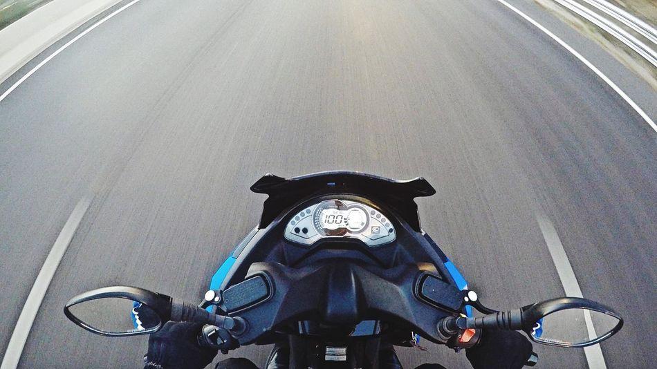 Just ride... First Eyeem Photo Kymco Motorcycle