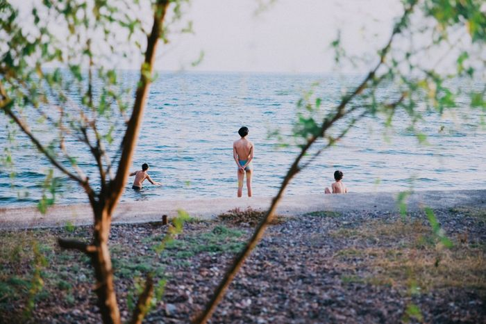 Summer is coming! Summer Boys Teenager Youth Friends Friendship Together Moment Snap Swimming Sea Happy Kunming, China Live For The Story The Great Outdoors The Great Outdoors - 2018 EyeEm Awards The Traveler - 2018 EyeEm Awards