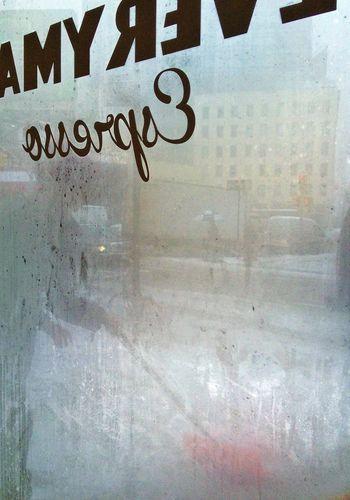 Hint of orange... #cleaningthesidewalk #nyc