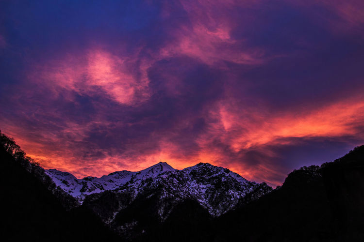 - Monti Biellesi - Mountain Dramatic Sky No People Canon600D Montagna Tramonto Biella Beauty In Nature Canon_photos First Eyeem Photo Sunset Sunset_collection Italiainunoscatto Top Paesaggioitaliano Paesaggio Invernale Passione_fotografica Cloud - Sky Scenics Sky Landscape Galaxy Outdoors EyeEm Nature Lover Europa Been There.