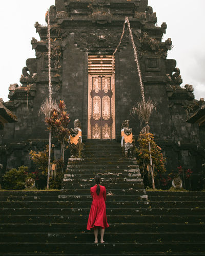 there's something that's bigger than us all Architecture Real People Rear View Women Of EyeEm Portrait Of A Woman Beautiful People Finding New Frontiers Temple Architecture Architecture_collection Asian Culture ASIA History Palace Bali, Indonesia Besakih Temple The Street Photographer - 2017 EyeEm Awards The Architect - 2017 EyeEm Awards An Eye For Travel