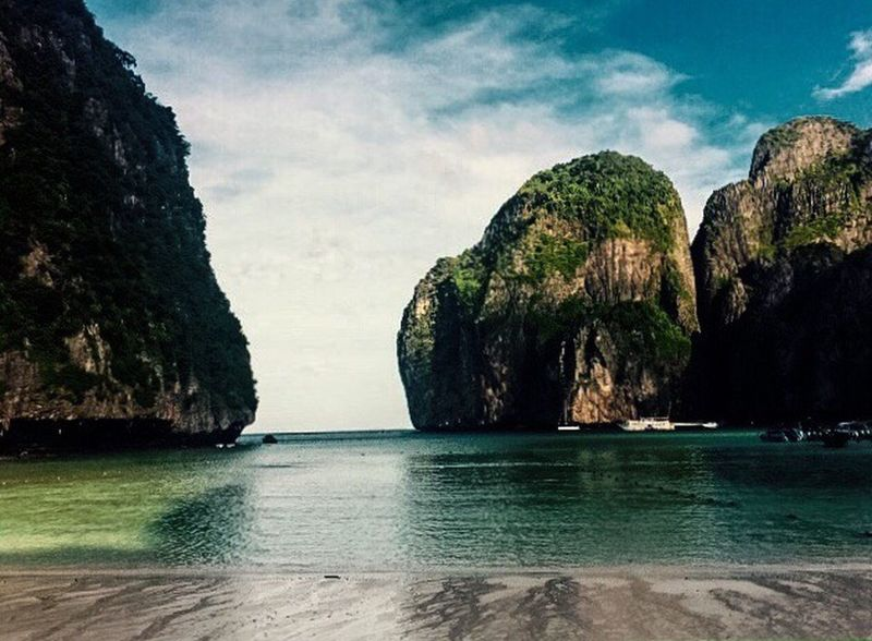The Great Outdoors With Adobe Southeastasia Thailand Maya Bay Mobile Photography
