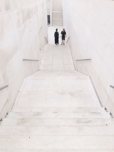 EyeEm Selects Lifestyles Steps And Staircases Architecture Built Structure White White Background Barcelona Be. Ready. The Architect - 2018 EyeEm Awards