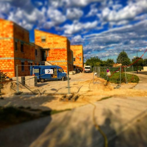 Architecture Built Structure Building Exterior Focus On Background Selective Focus Sky No People City Outdoors Tree Tilt-shift Day