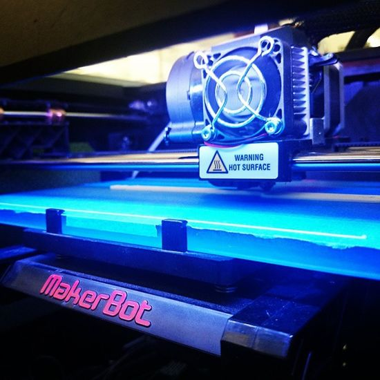 Hours of 3D printing addiction 3dprinting MakerBot @makeraddictz