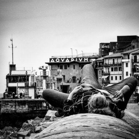 Holidays in Basque Country Donostia / San Sebastián Donostia Blackandwhite Holidays Streetphotography