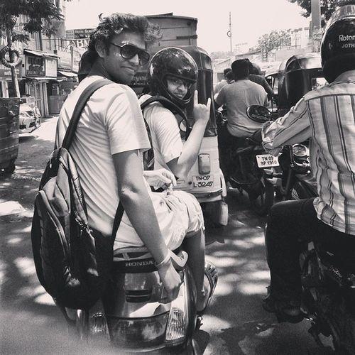 Throwback. Thechennaitrip Midtownmadness Chennaistreets Amazingmoments