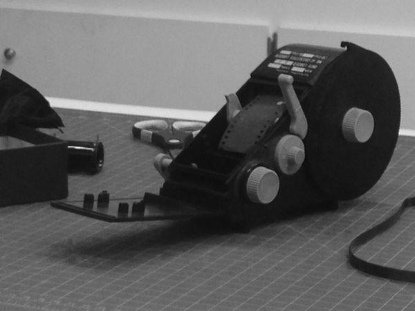Working Hard 35mm Film Darkroom