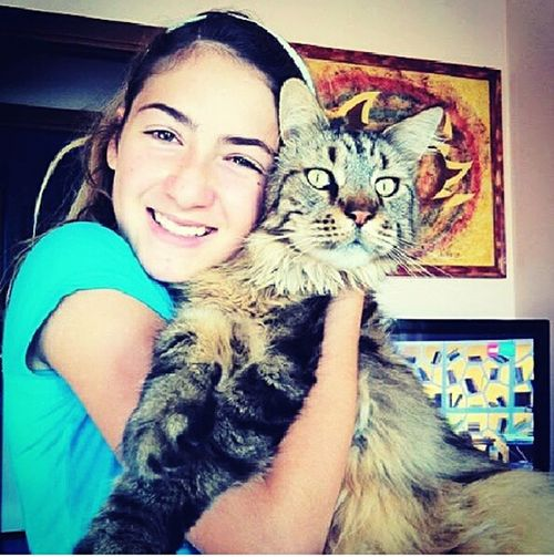 Old Photo, Me and My Cat Arturo🐱, 4 Years Ago