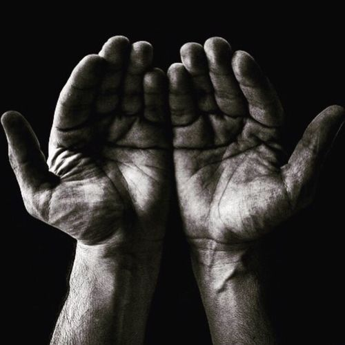 """""""There is nothing more beautiful than a vulnerable heart in open hands."""" Amanda Mosher Hello World EyeEm Best Shots Hand Praying Blackandwhite Eye4photography  Hands Photography"""