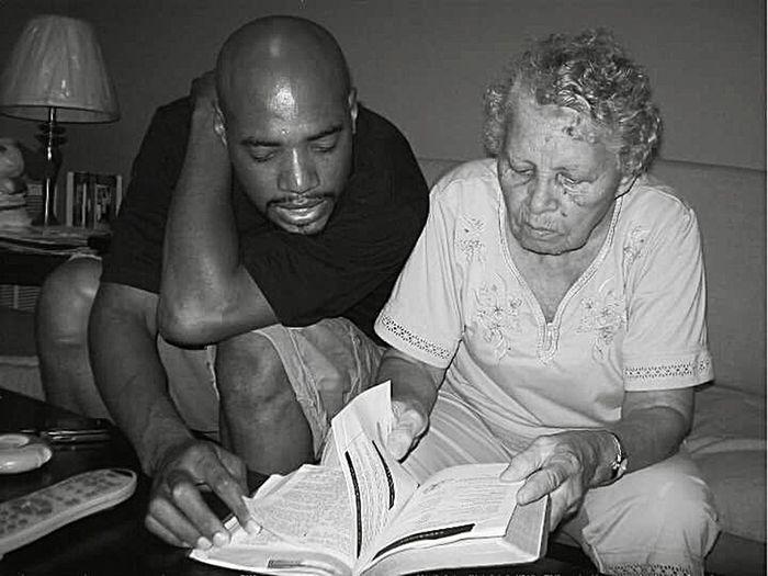 Building Foundations Me & Grandma