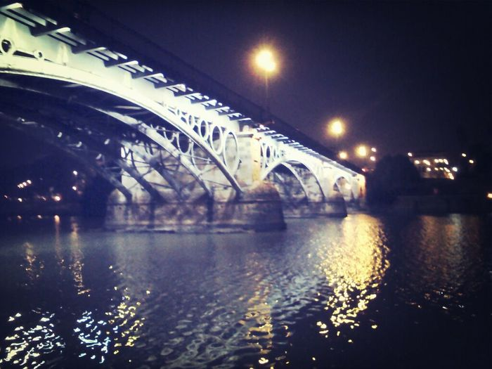 Seville Triana Bridge Magical Lights